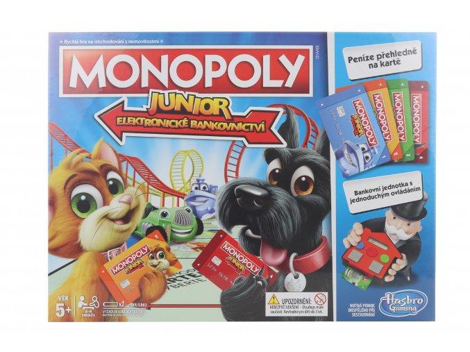 Monopoly Junior - elektronické bankovnictví