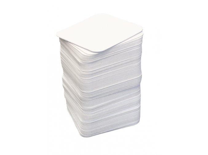 Kartonové kartičky 9,3 cm x 9,3 cm  100ks