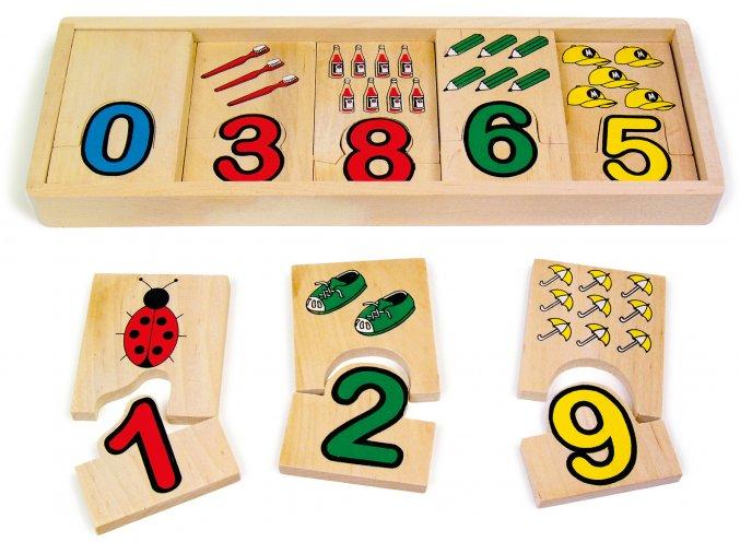 Čísla - Přiřazení čísel