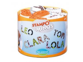 StampoMinos, Velká abeceda
