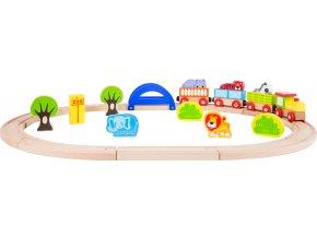 10504 Holzeisenbahn Mein Zoo a