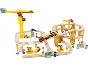 11191 legler small foot eisenbahn set baustelle a