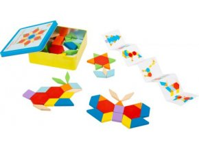 11357 small foot legler tangram set a