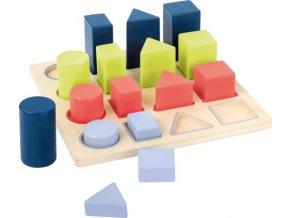 11100 legler small foot Steckpuzzle Geometrie Educate a