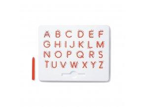 53435 2 magneticka kreslici tabulka magpad abeceda velka tiskaci pismena