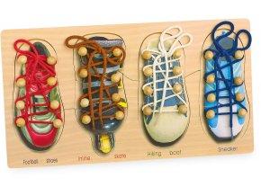 8158 Schuhe binden