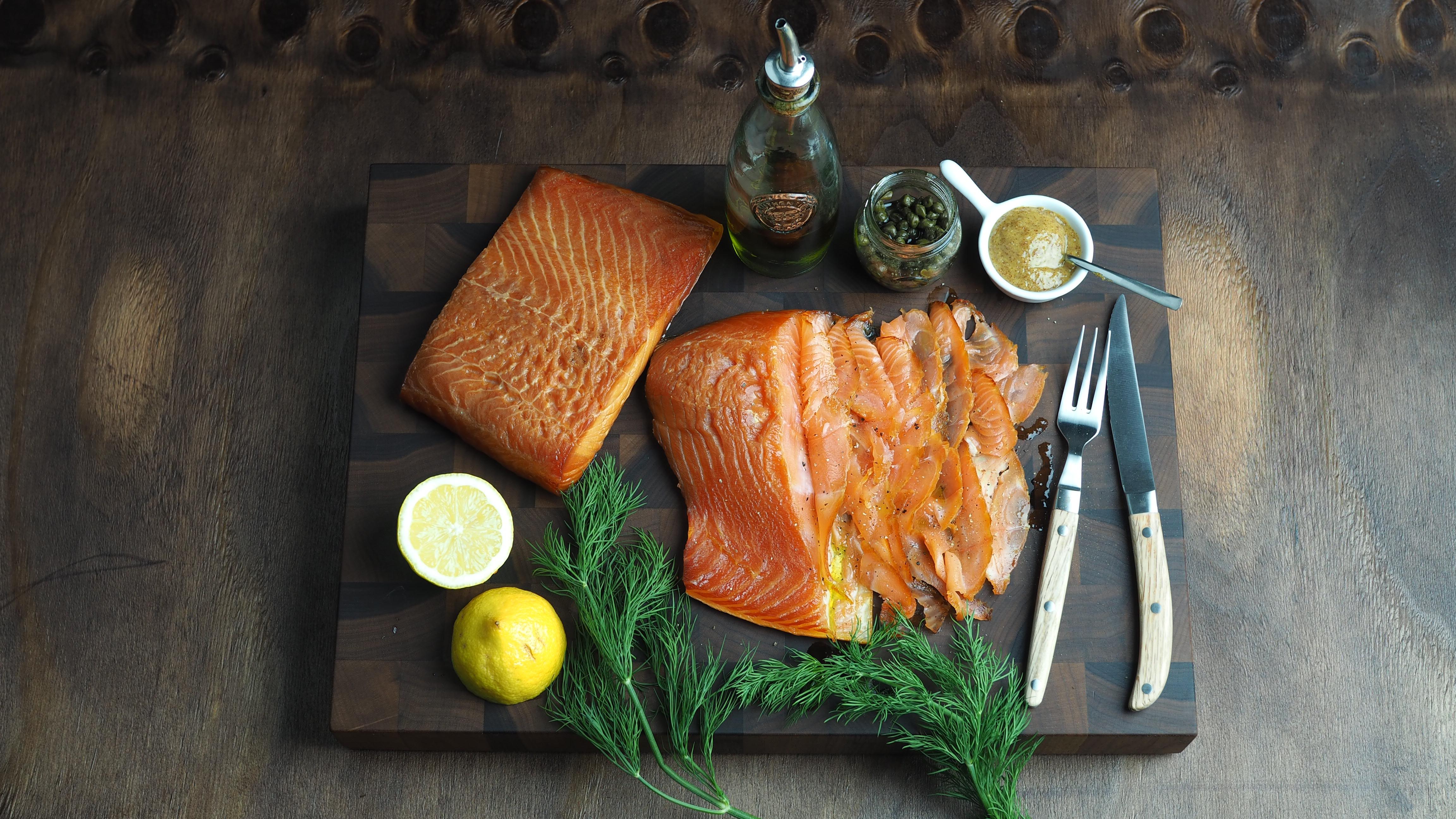 Údený losos a recepty z neho