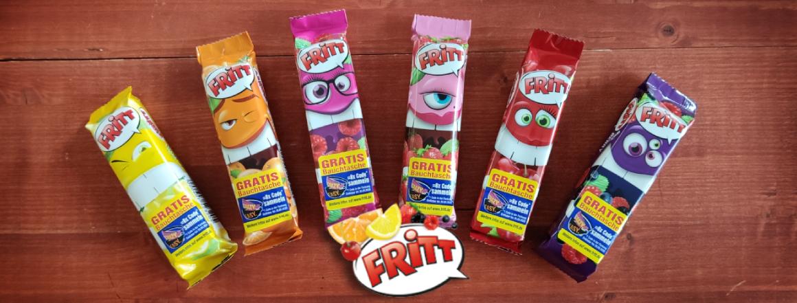 Ovocné žvýkací bonbony Fritt Crazy