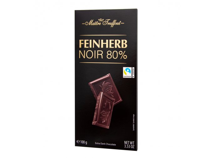 horka cokolada premium 80 procent 100g