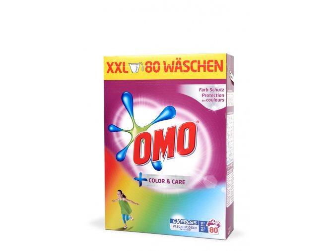 Rakouský prací prášek OMO color 80 dávek