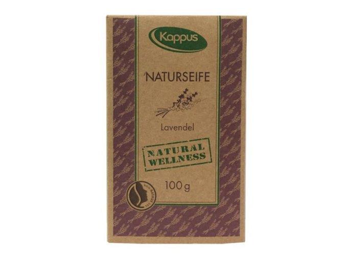kappus levandulove mydlo 100g v krabicce