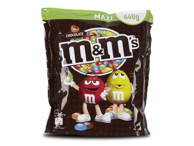 m m s cokoladove 440g