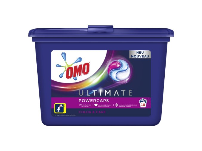 OMO ultimate powercaps color kapsle na praní 18ks