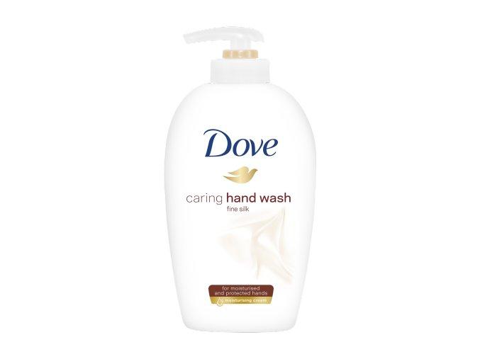 tekute mydlo s pumpickou dove fine silk 100 ml