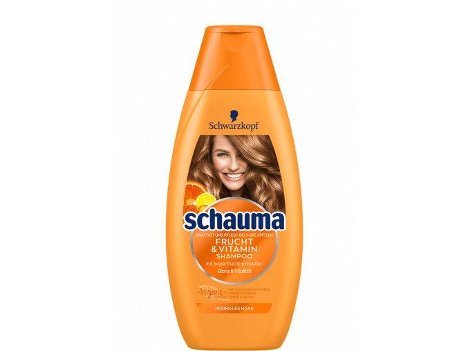 nemecky sampon na vlasy schauma frucht vitamin 400 ml