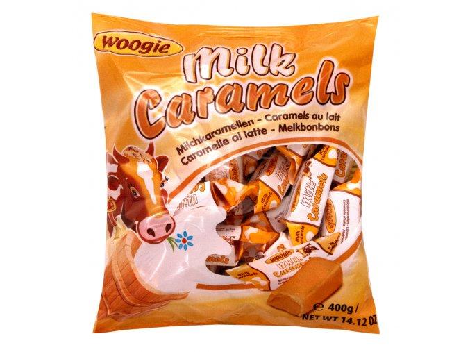 woogie mlecne karamelky 400g