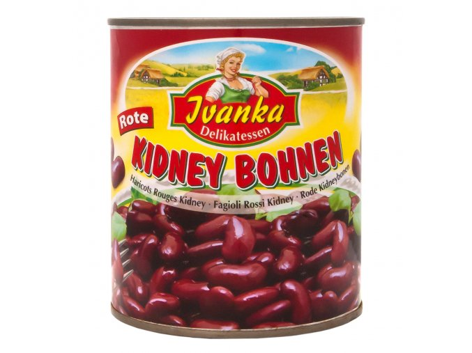 Cervene fazole v konzerve 800g