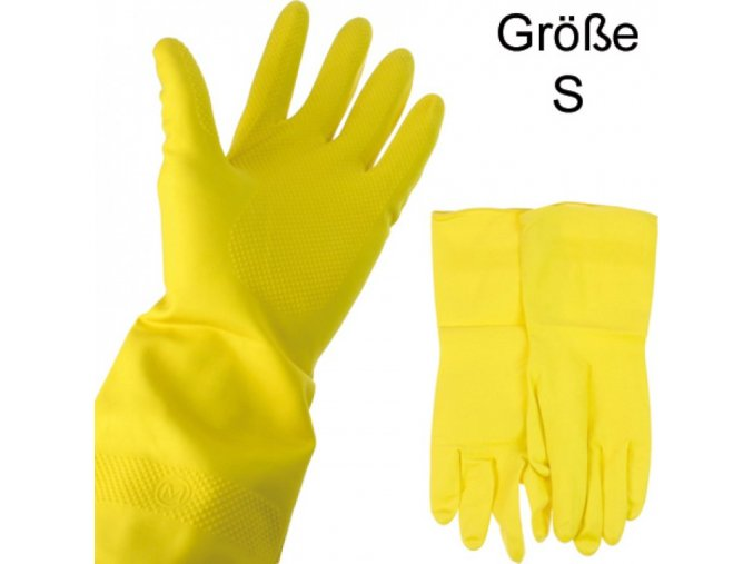 uklidove rukavice velikost s