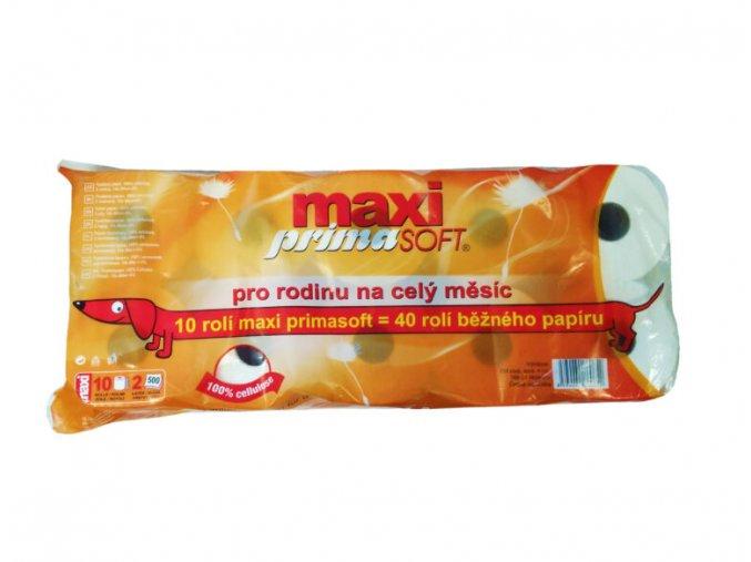 toaletni papir maxi prima soft 2 vr 10 roli