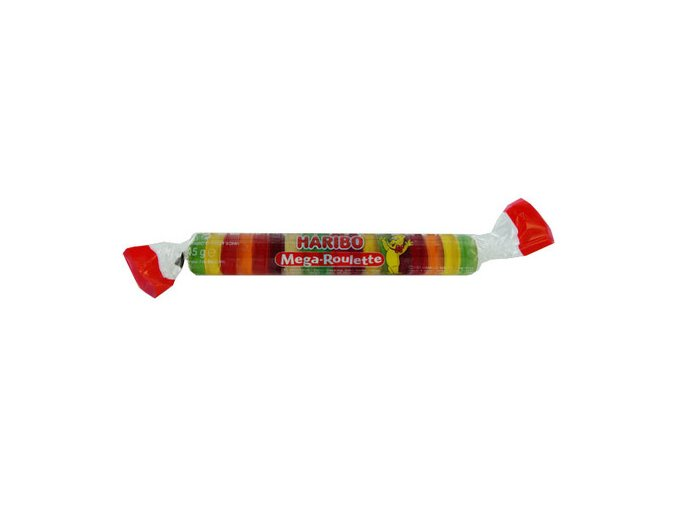 haribo megarulicka s zelatinovymi bonbony 45g