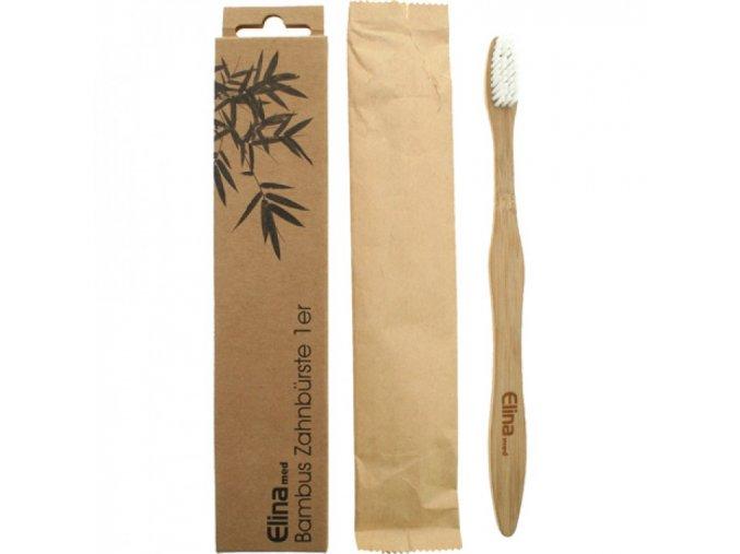 elina med bambusovy zubni kartacek
