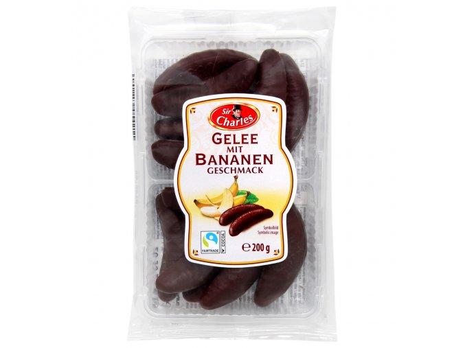 rakouske zele bananky v cokolade 200g