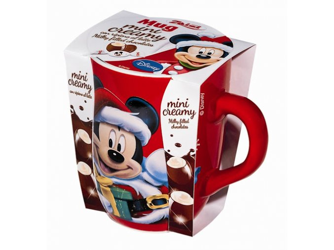keramicky hrnecek mickey mouse s cerealiemi