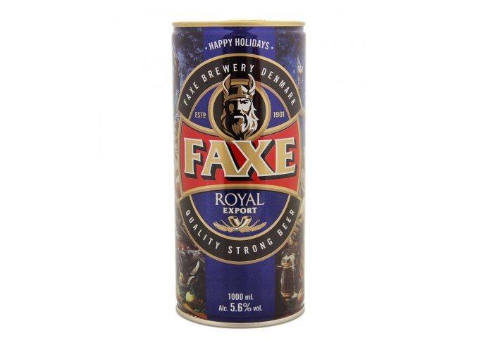 pivo faxe royal export happy holidays