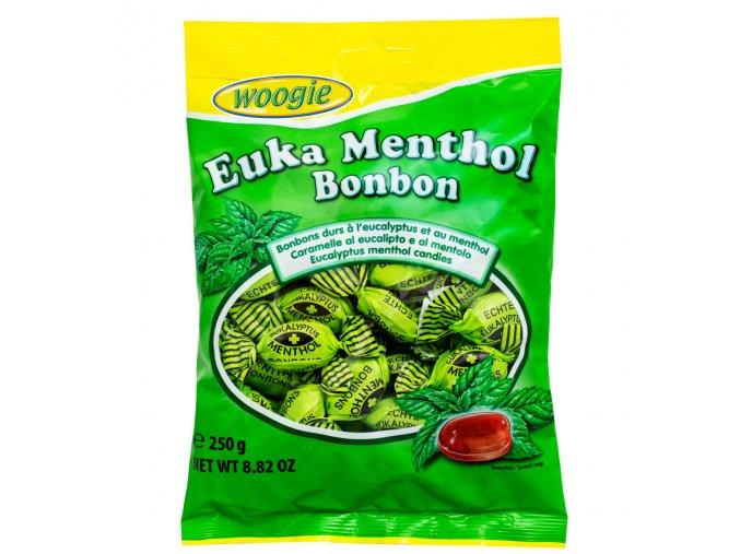 eukalyptove bonbony mentolem 250g