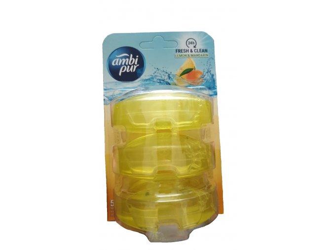 wc zaves ambi pur citron mandarinka 3x55 ml nahradni napln