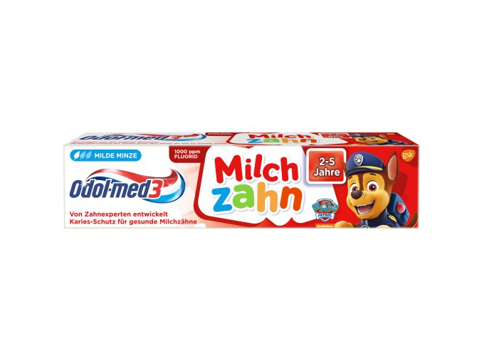 odol med3 zubni pasta pro predskolaky tlapkova patrola 50ml
