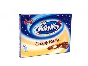 Čokoládové tyčinky milky way crispy rolls