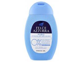 italsky sprchovy gel Felce Azzurra puro 250 ml