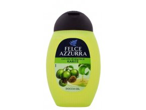 italsky sprchovy gel Felce Azzurra Karite s bambuckym olejem 250 ml