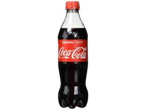 Coca Cola s cukrem 500ml plast nemecko