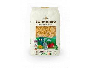 italske testoviny pro deti sgambaro mini cuccioli mladatka 500g