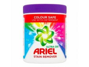 ariel ultra oxi stain remover color safe odstranovac skvrn z barevneho pradla sypky 1kg