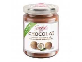 krem z mlecne cokolady s prazenymi kokosovymi vlockami 235g