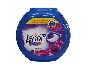 kapsle na prani Lenor color Amethyst All in1 58 ks