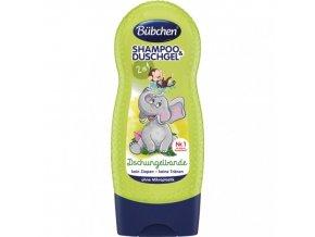 bubchen sprchovy gel a sampon pro deti zeleny 230ml