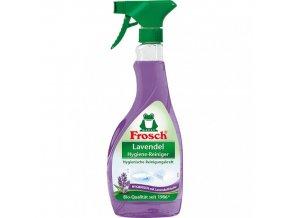 frosch hygienicky cistic levandule 500 ml s rozprasovacem