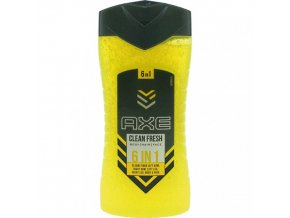 sprchovy gel axe clean fresh 6v1 250 ml