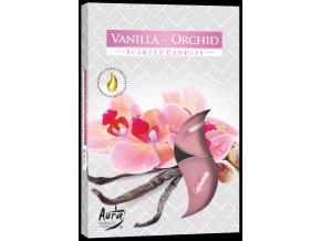 vonne cajove svicky vanilka a orchidej 6ks