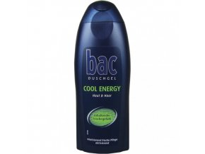 sprchovy gel z nemecka bac cool energy 250ml
