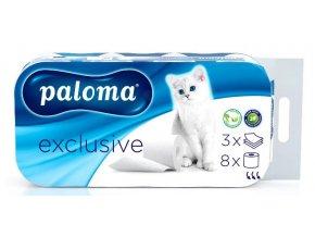 toaletni papir paloma exclusive 8 roli