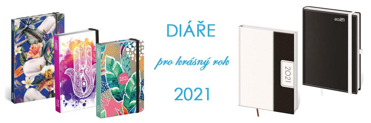 diáře 2021