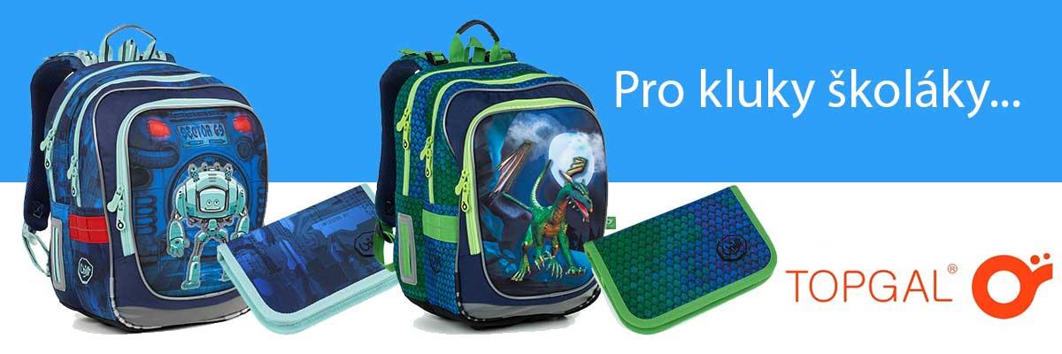 Školní batoh pro kluky do první třídy
