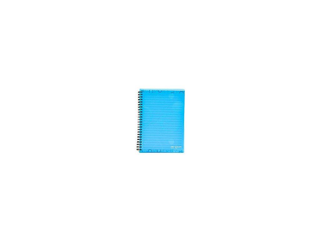 """Blok kroužkový A5 linka """"Neo Colori"""" modrý"""