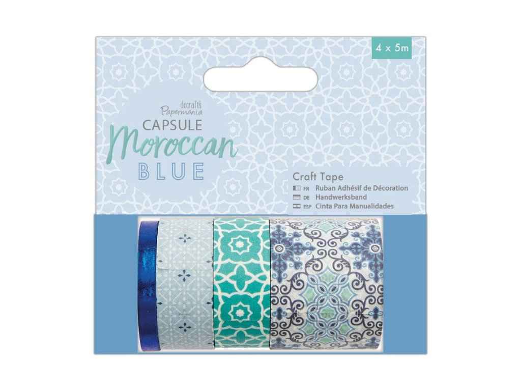 washi pásky s arabskými vzory