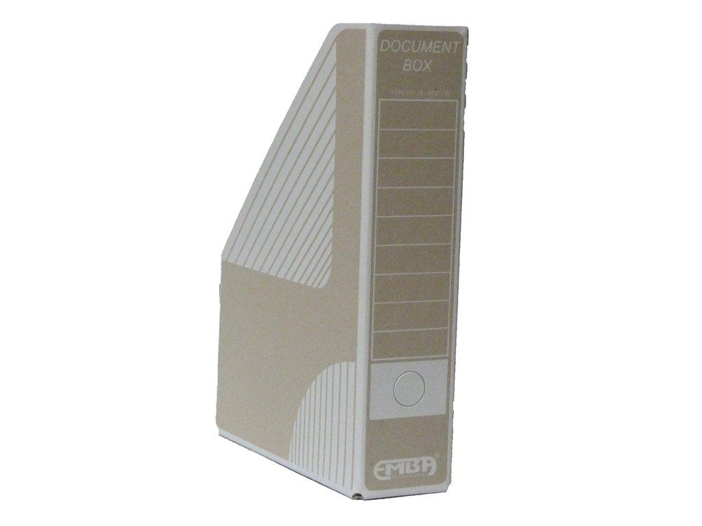 Box archivní magazin bílý 330 x 230x 75 mm